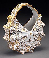 PB Quimper basket form vase