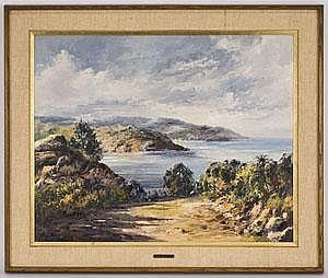Jose Vives-Atsara oil painting on canvasboard,