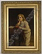 William Oliver II oil painting on canvas,, William Oliver, Click for value