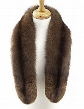 Neiman Marcus sable fur collar