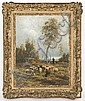Jean Ferdinand Chaigneau oil painting on panel, Jean Ferdinand Chaigneau, Click for value