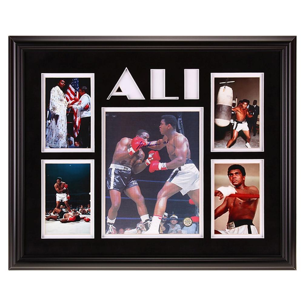 Muhammad Ali Heavyweight Champ 12x16autograph GFA