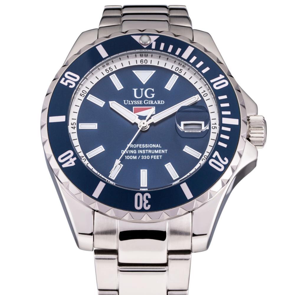 Ulysse Girard Blue Fin Japan Movement Diver Watch