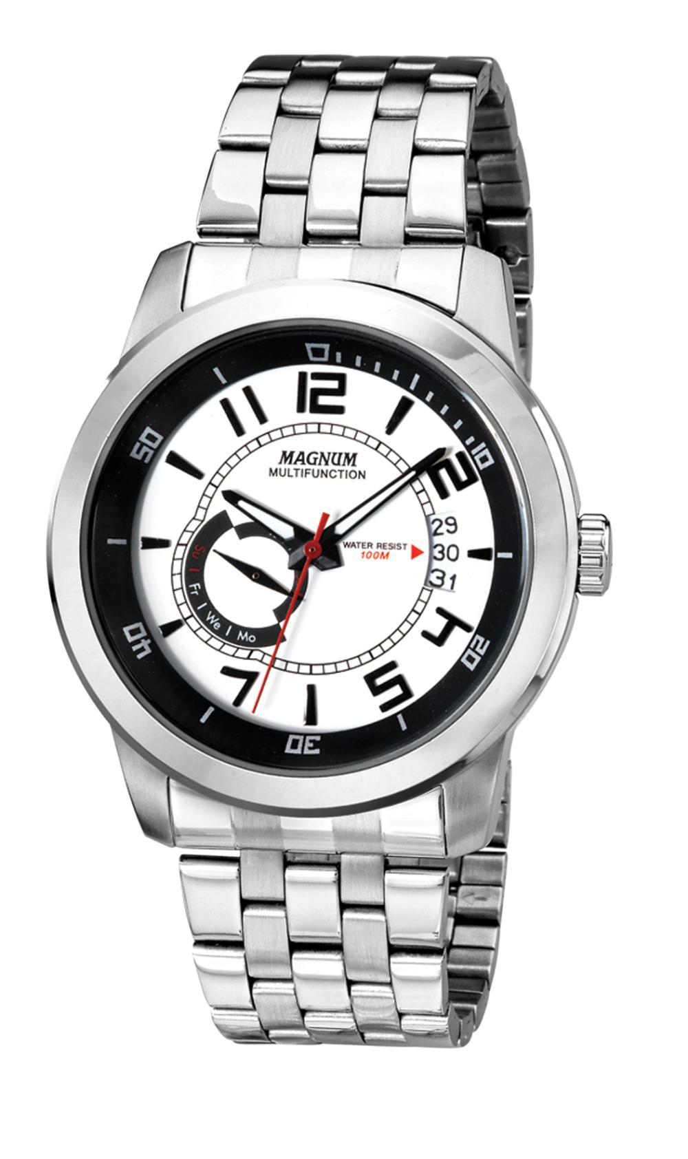 42 mm Men's Magnum Master Quartz Watch