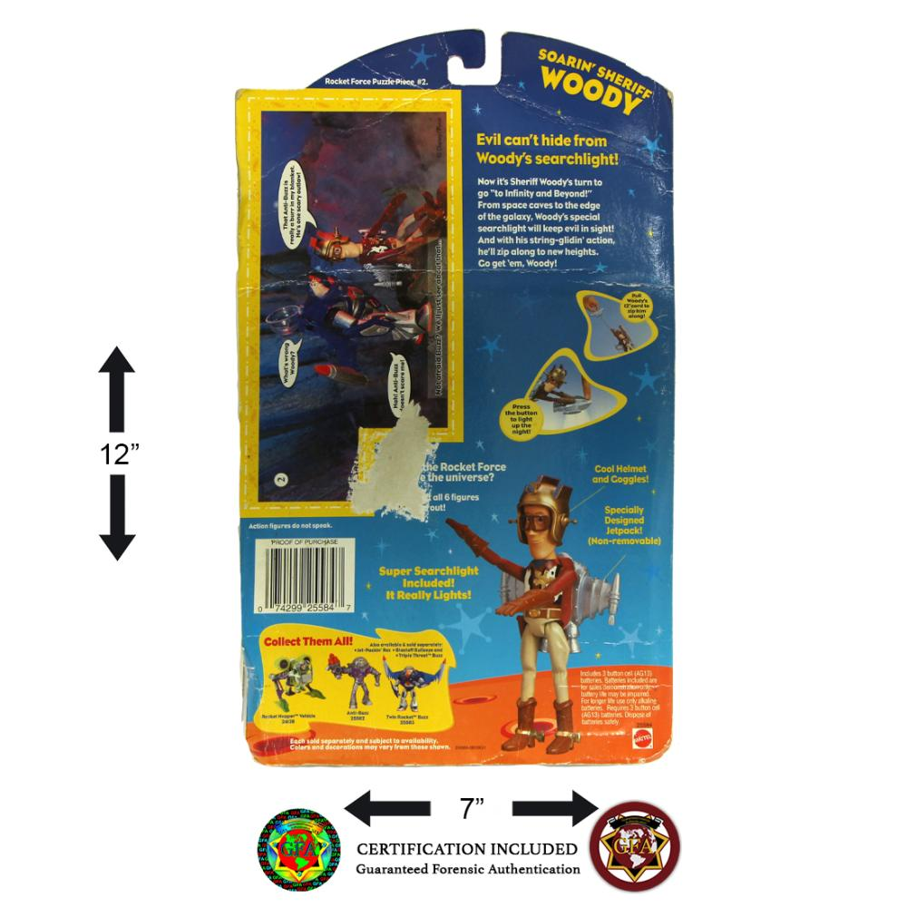 Tom Hanks Signed Woody Action Figure