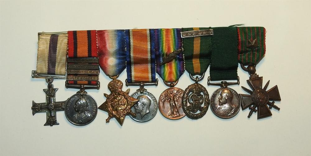 A Lot of 19th Century and WWI British Forces Chest Medals