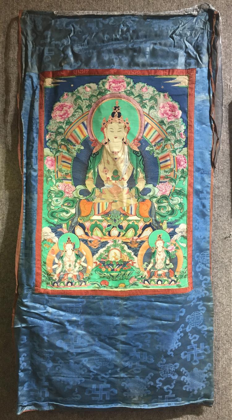 Tibetan Thangka, Ambassador Estate