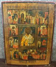 Russian or Greek icon, c.1900