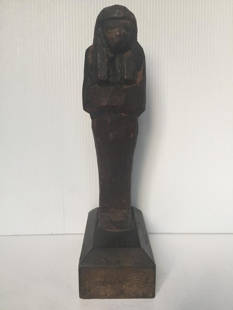 Egyptian wood Shabti-Ambassador Estate