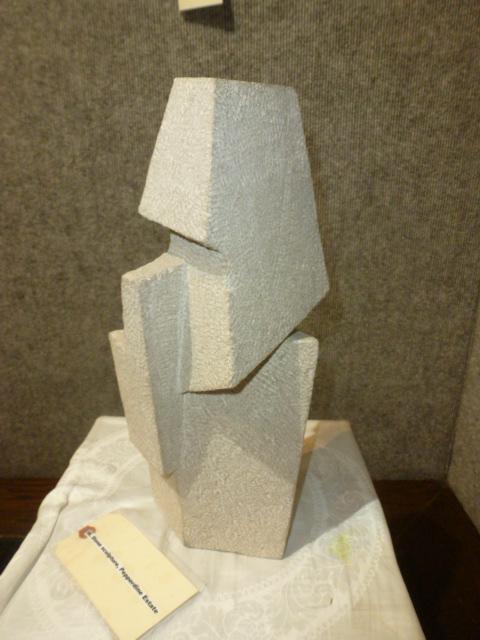 Stone sculpture, Pepperdine Estate