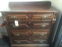 Wood chest, circa 1940-Ambassador Estate