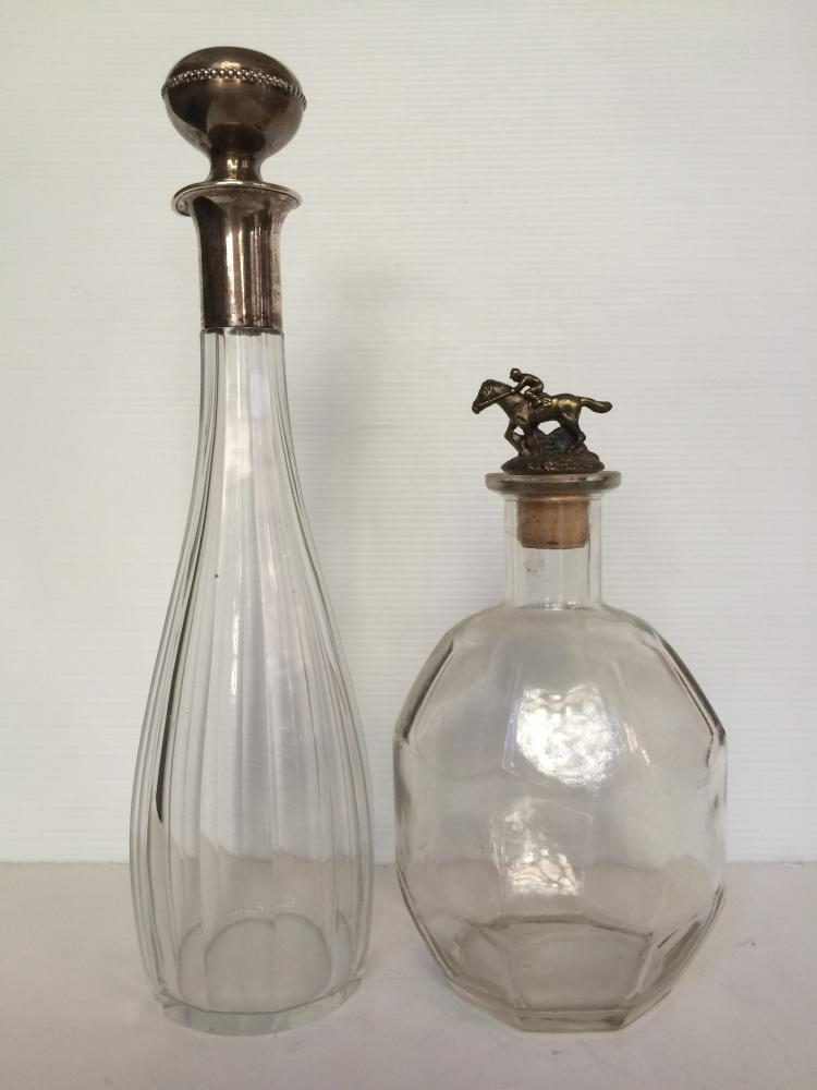 Two decanters