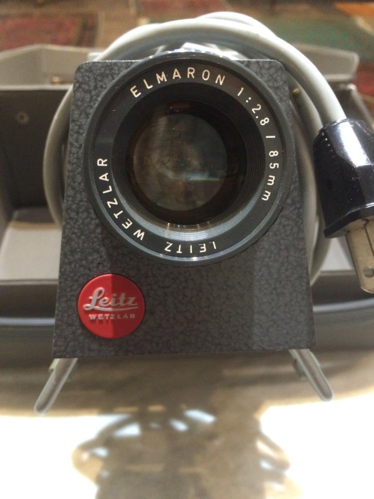 Box lot-Leitz slide projector