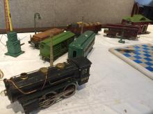 Lionel toy train set