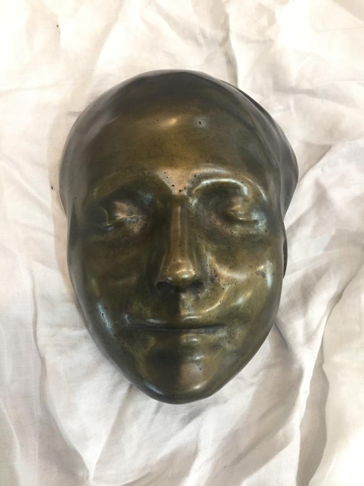 Bronze face mask
