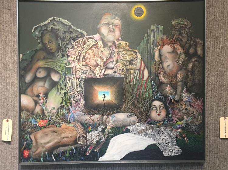 """The Temptation of Saint Anthony"" by Franco Minei"