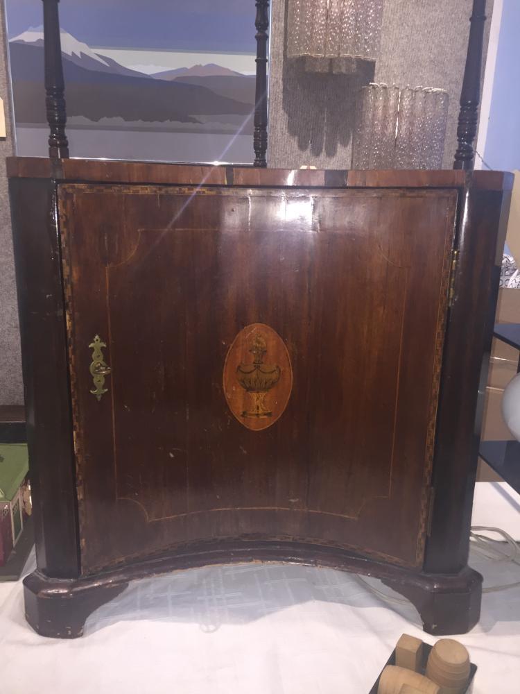 Corner cupboard, c.1750