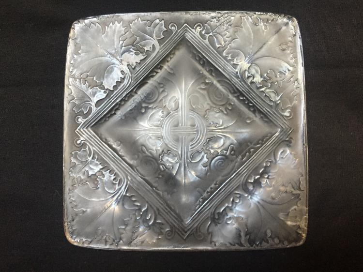 Rene Lalique dish-internal crack