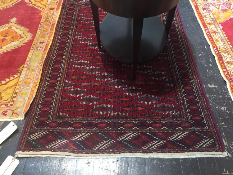 Handmade carpet with fish, 61