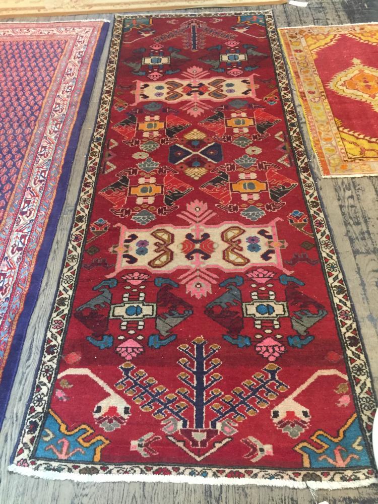 Handmade carpet, Caucasian design, 108
