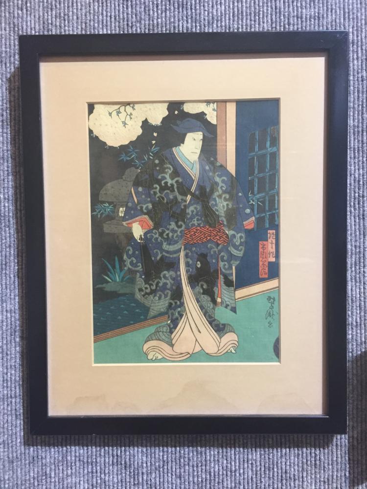 Japanese woodblock print by Yoshitaka, 1865