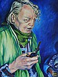 LEONTARIS, Natalie Portrait of David Boyd Oil on