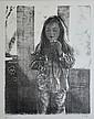 DUNLOP, Brian (1938-2009) Girl Blowing Bubbles