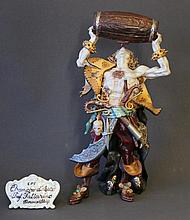 Capodimonte Buccaneer Figure. Standing buccaneer