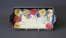 Royal Doulton Pansy Ptn Sandwich Plate. D4049.