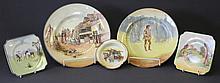 5 Various Royal Doulton Series Ware. Incl.