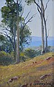 LONG, Leonard (b.1911)  'In the Whitfield Hills, Victoria,' 2007.