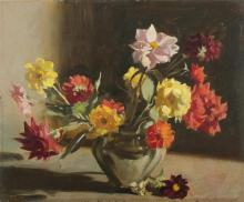 BLANCHARD Brian (b.1934), Still Life, Oil on Board, 38x45.5cm