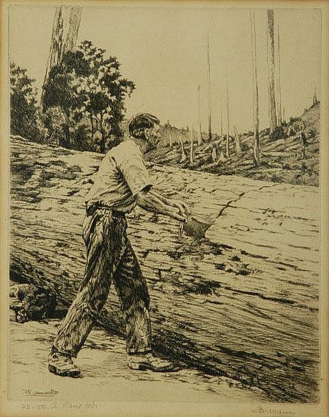 WARNER, Alfred Edward (Ernest) (1879-1968) 'A