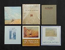 BOOKS (6) J J Hilder incl 'The Art of J J Hilder'