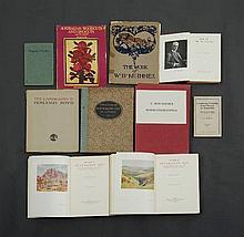BOOKS (9) 1920s & 1930s incl Woodcuts & Linocuts etc