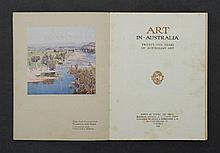 BOOK, Art in Australia, Series 1, no