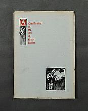 BOOK, 'A Consideration of the Art of Ernest Moffitt