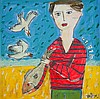 LESTER, Kerry (b.1953) 'Catch', Kerrie  Lester, Click for value