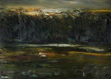 DYER Geoffrey (b.1947), 'Cockle Creek', Oil on Linen, 153x213cm