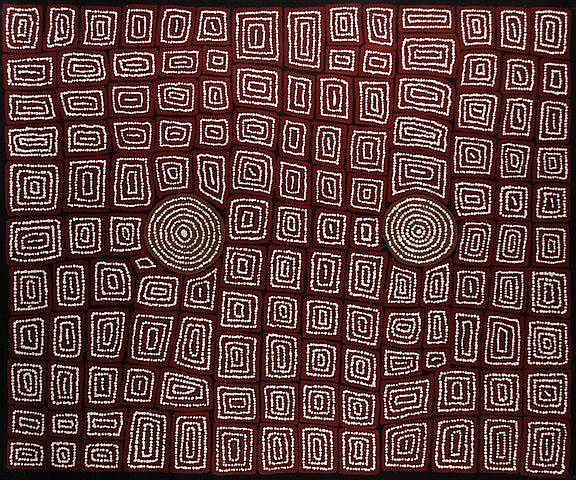 TJAPALTJARRI, Thomas (b.c.1964) 'Tingari Cycle,'