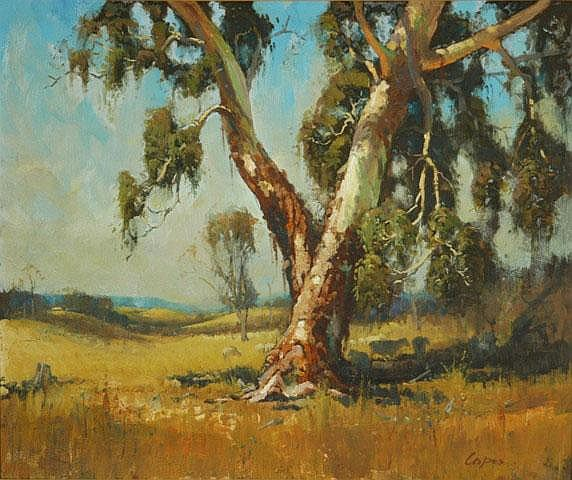 COPES, Dixon (b.1914) Sheep in the Shade of a Gum