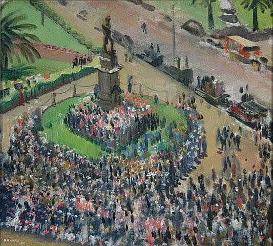 DUNDAS, Douglas Robert (1900-1981) 'War Drive