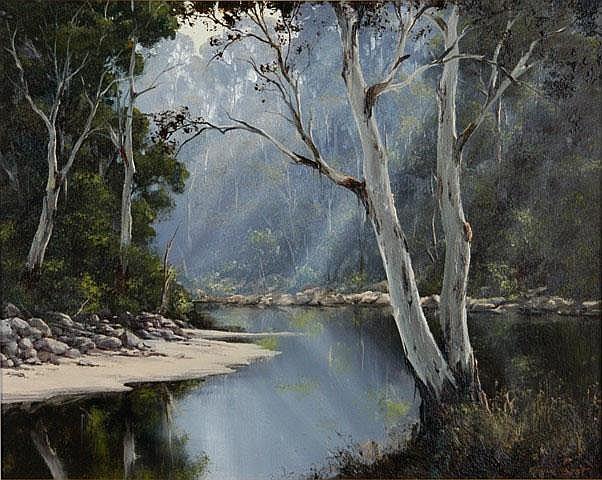 BEST, Kevin (b.1932) 'Quiet Corner (Upper Manning