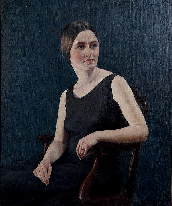 CARTER, Norman (1875-1963) 'Women in Black,' c.
