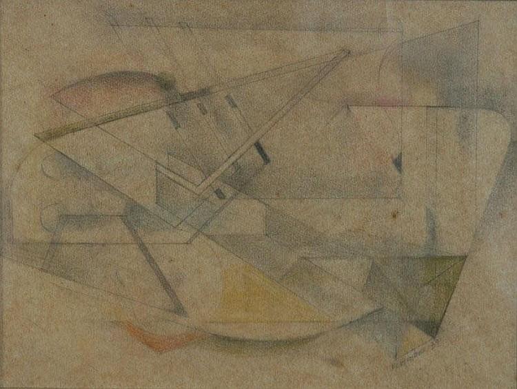 HINDER, Francis (Frank) (1906-1992) Constructive