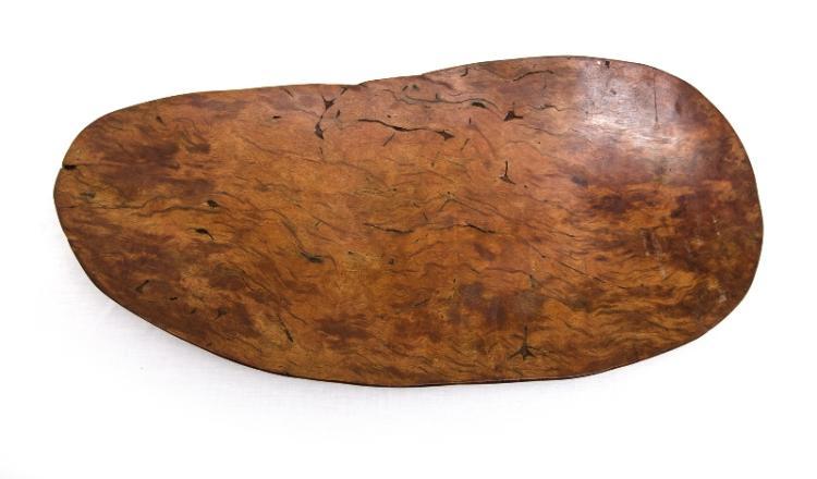 Aboriginal Hardwood Coolamon.
