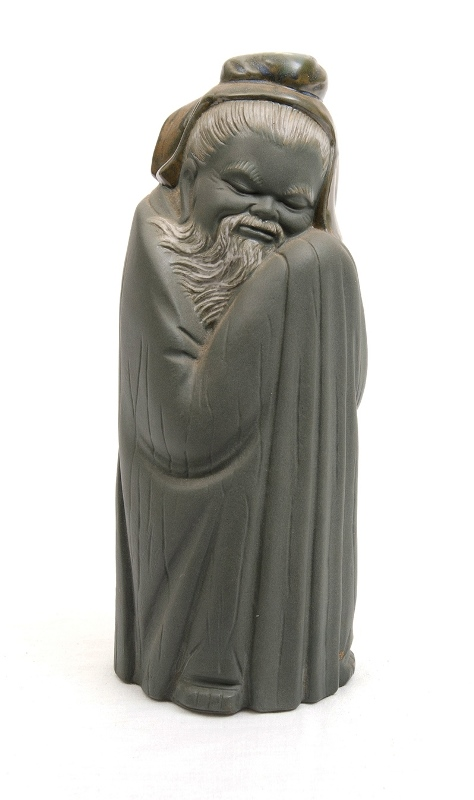Lladro Chinese Sage Figure.  Stamped to base and 'DAISA 1977.'