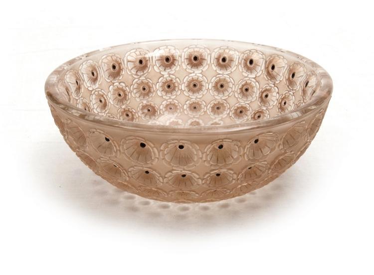 Rene Lalique Nemours Bowl
