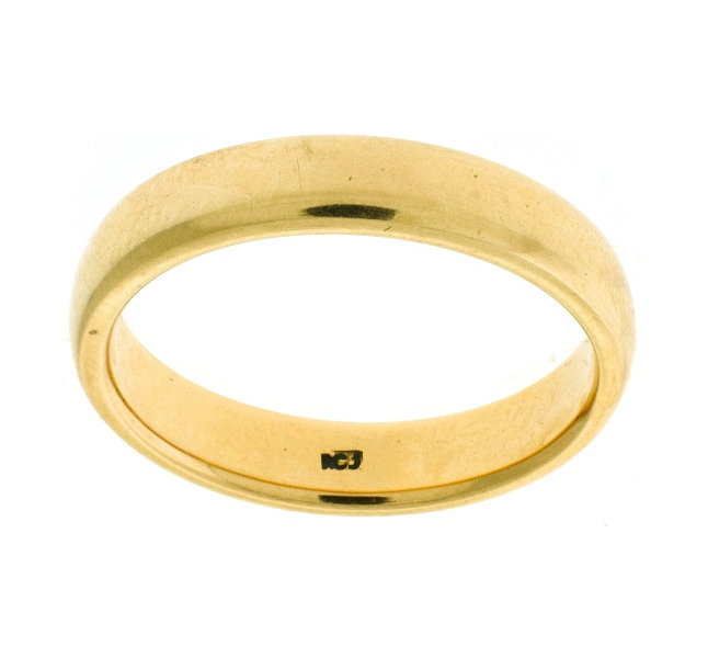 18ct Yellow Gold Wedder
