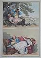 ROWLANDSON, Thomas (British 1756-1827) 'Nap in the